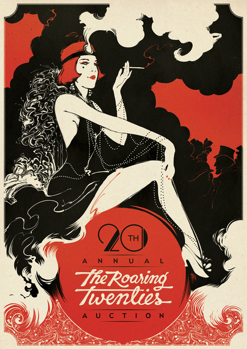 susanlori:  THE ROARING TWENTIES on the Behance Network on We Heart It. http://weheartit.com/entry/16180444