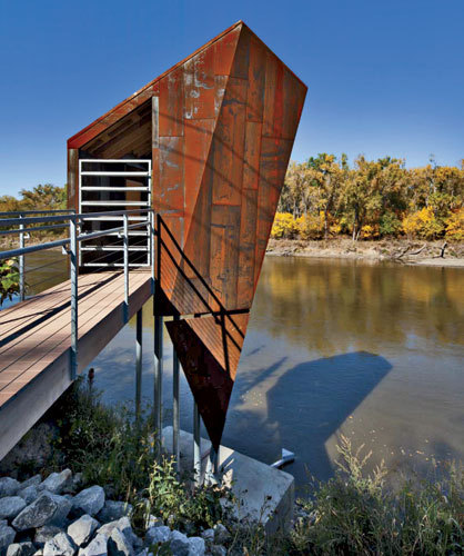 elkhorn river research station ~ randy brown architects
