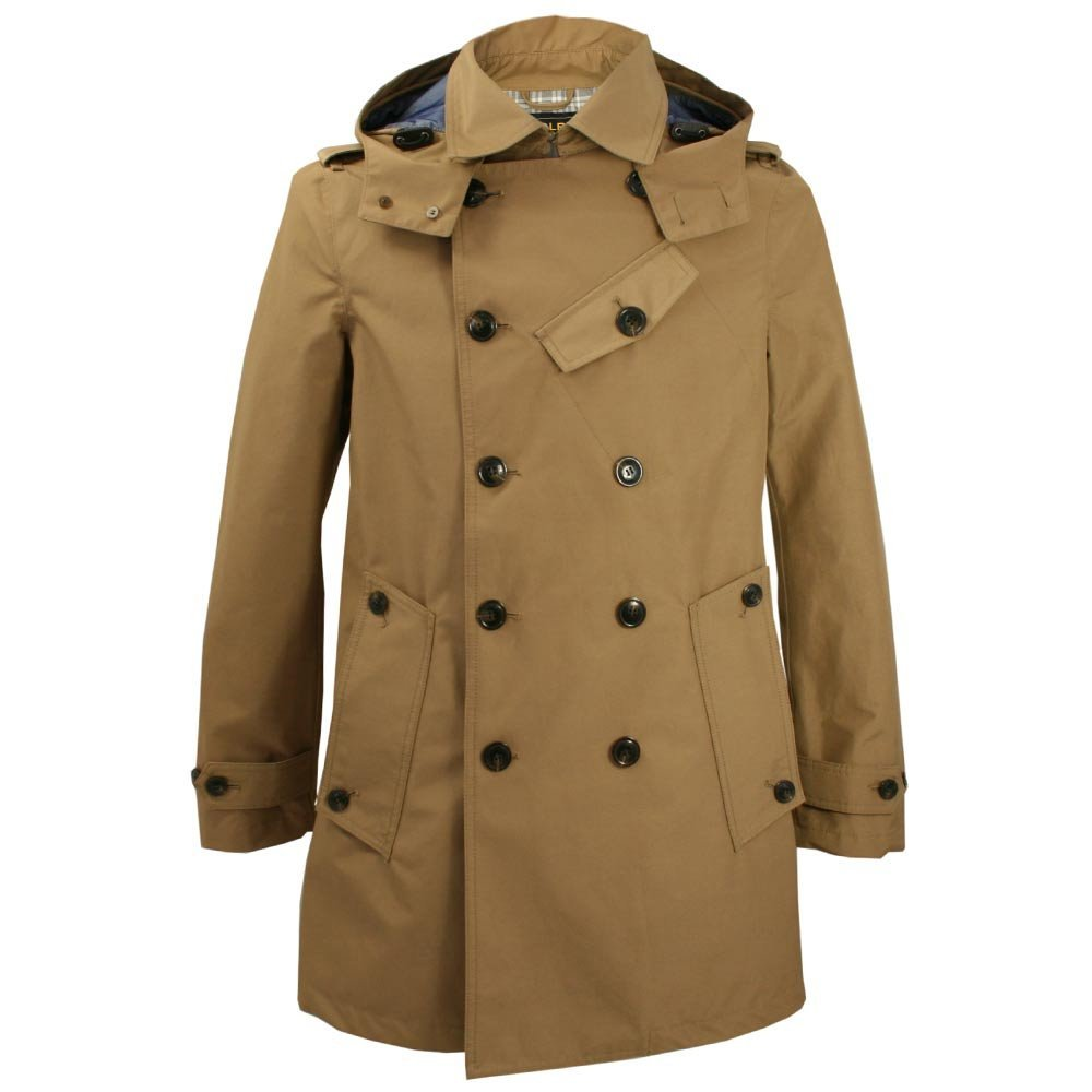 nattyfashion:  Woolrich Woolen Mills - Summer Michigan Tan Peacoat Jacket$655 from Stuarts London