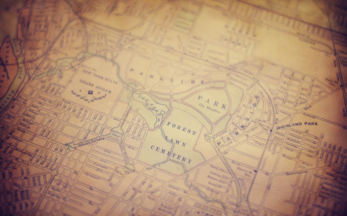 Buffalo Map on Flickr.Detail of a map of Buffalo, NY from Old Editions Book Shop.{TUMBLR + ETSY + PORTFOLIO}