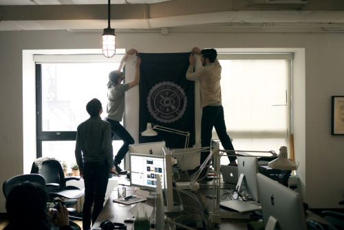 staff:  joey:  The Ministry of Design has a flag now.  Salute!