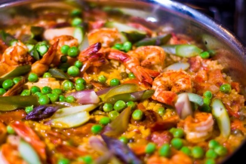 paella from No Recipes