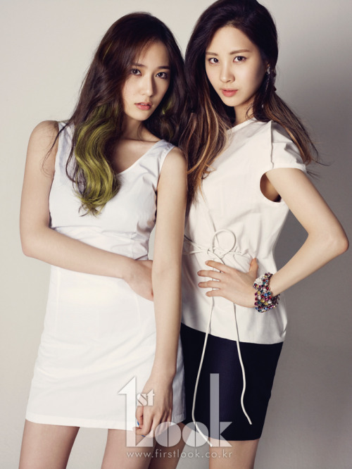 whimsicalchild:  Seohyun and Krystal for First Look Magazine