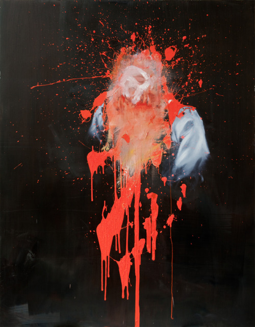 6in:  Antony Micallef. Untitled 2. Oil on linen, 140cm x 180cm.