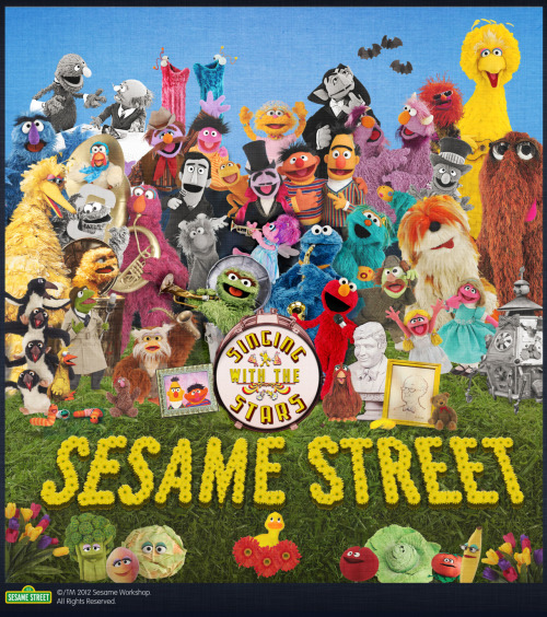 sesamestreet:  What better way to celebrate the new Singing with the Stars DVD than by spoofing the Beatles?