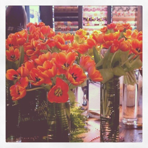Too many Tulips at #TheArtworks (Taken with instagram)