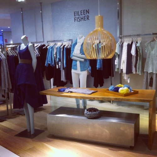 Blue: The EF pad at Saks 5th Ave (Taken with Instagram at Midtown East - NY, NY)