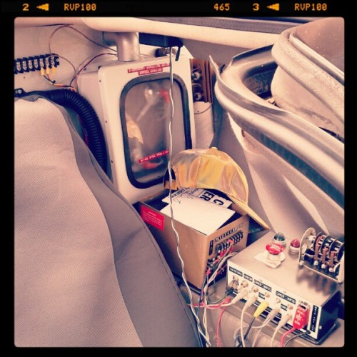 The Flux Capacitor (Taken with instagram)