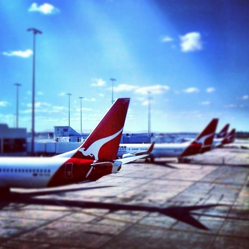#melbourne #airport #instralia #qantas #airplane #australia (Taken with Instagram at Melbourne Airport (MEL))
