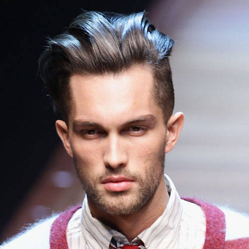 (via Men's Hair from Milan Fashion Week 2011 on we heart it / visual bookmark #16725002)