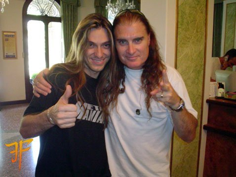 Edu and James LaBrie.