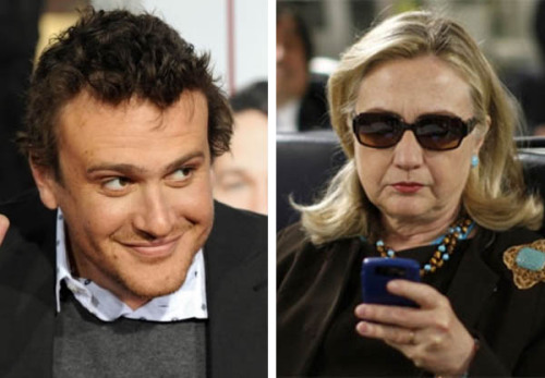 "Actor Jason Segal is a bit of a fan of Hilary Clinton.  He joked that he thinks she'd be perfect for the sequel to his movie, ""Forgetting Sarah Marshall."" But, recently — while promoting his new film, ""Five Year Engagement,"" on Jimmy Fallon, Jason revealed that Hillary had gotten word of his continued references to her and sent a letter, humorously declining the chance to act with him."