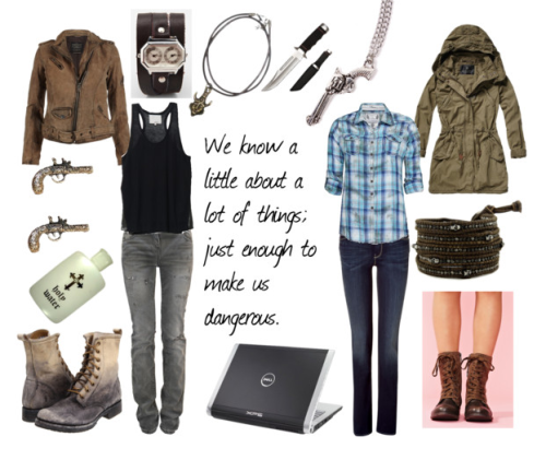 fictionalfashionistas:  BY REQUEST Supernatural Inspired - Dean and Sam Winchester