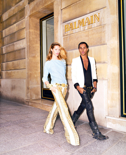 in love with him - Olivier Rousteing