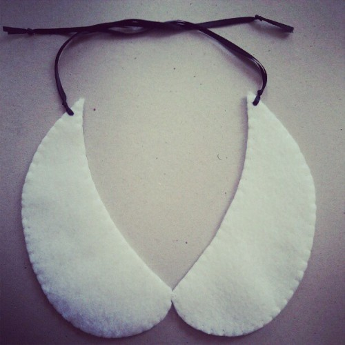 Plain collar necklace #etsy (Taken with instagram)