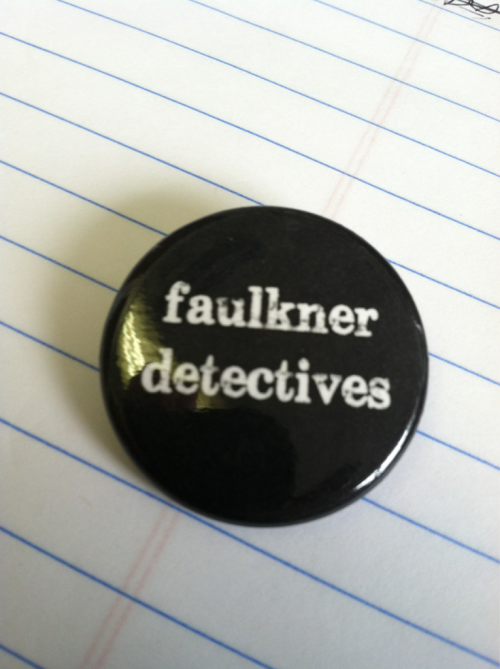 We have @faulkdetectives buttons!