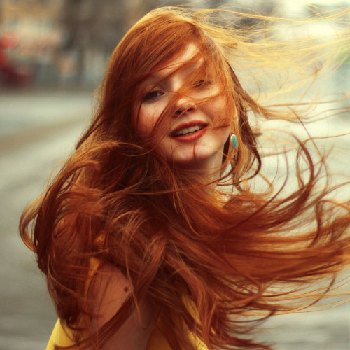 for-redheads:  spring !!! by Bukina Mary