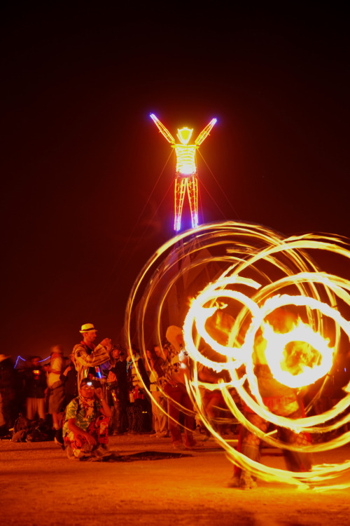 where-we-wander:  Balancing Burning Man by *louieschwartzberg