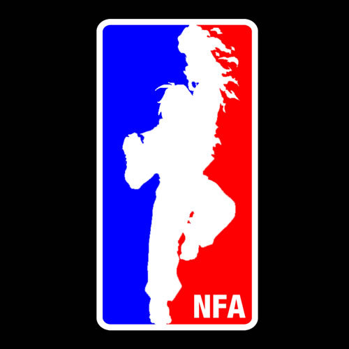 """National Street Fighter Association (NFA)"" by Royal Bros Art. It seems like almost every competitive event has a National Association now - Basketball, NASCAR, Quidditch. There's even associations for wrestling and boxing.