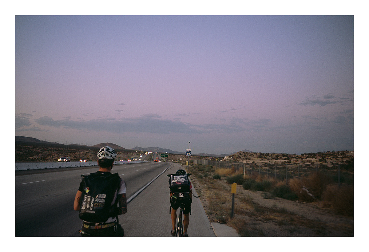 SF to LA to Vegas - Interbike tour 2011 (Marc and Chas)