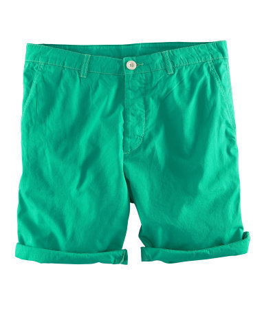 Green H&M shorts  I just got one for myself.. … :D