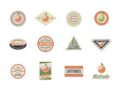 Stickers for Latitudes (by 3 Advertising)