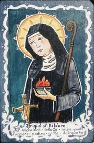 Brigid of Kildare 451-525 Patron St of Midwives