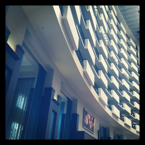 Downtown Nashville Hilton #abstract (Taken with instagram)