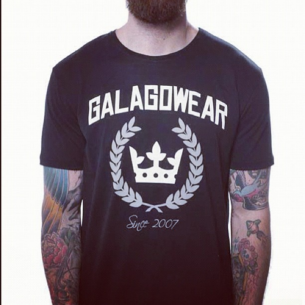 Logo tee #galagowear #teamgalagowear #instagram #photo #streetwear #today #fashion #spring  (Taken with instagram)