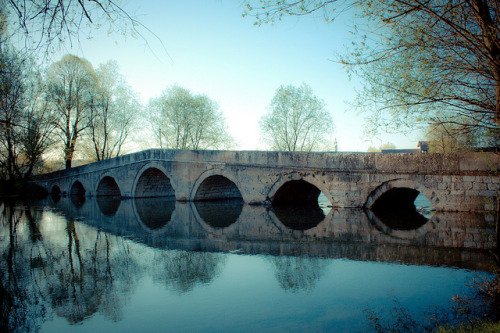 Roman bridge - Explore by NafLeNaf [studying] on Flickr.