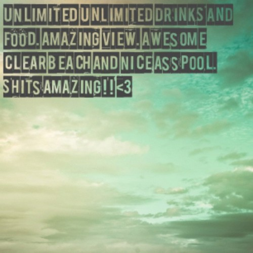 #tweegram #vacation #cancun #mexico #nolimit #heaven (Taken with Instagram at Gran Caribe Real Resort)