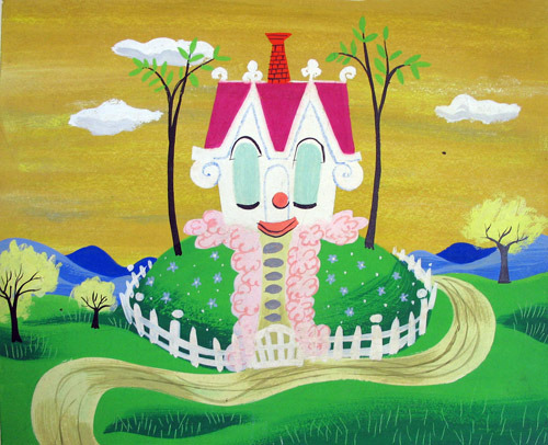 imagebuffet:  The Little House Concept Art by Mary Blair - 1952