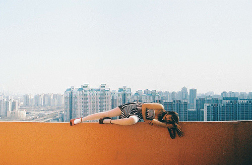 thiscitycalledearth:  by Ren-Hang, Beijing.