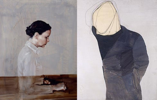 inthedifferentway:  Michael Borremans / x Luc Tuymans /
