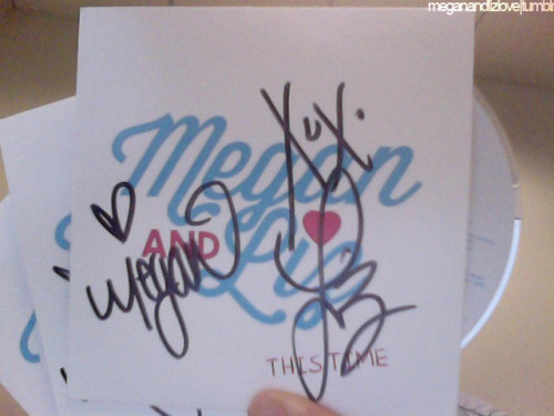 Megan & Liz EP Giveaway!! Rules: Reblog as many times as you'd like Join Team Megan & Liz on Facebook Vote 25x a day, everyday for Megan and Liz in the iHeartRadio Contest!!! — leave us the email you use to vote in our ask box, and we will use that to check if you've voted as well as contact you if you won! Winners will be chosen at random from reblogs/group members on Facebook