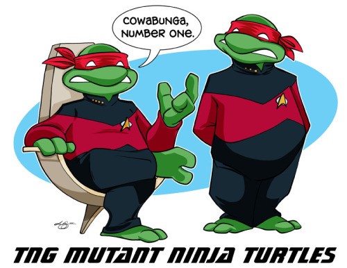 uncalar:  Took a quick cartoon break to refresh myself. Enjoy! TNG Mutant Ninja Turtles!