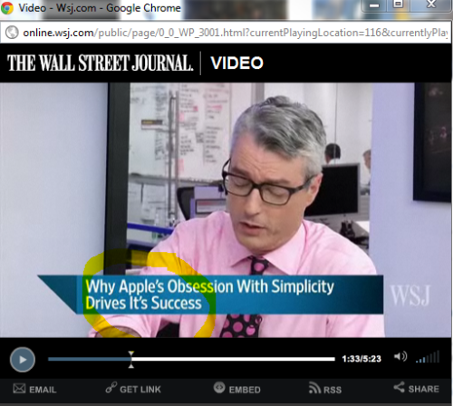 "the peeps at WSJ look like FOOLS with their ""it's"" when it should be ""its."" smile; you're better than the WSJ because you follow this tumblr."