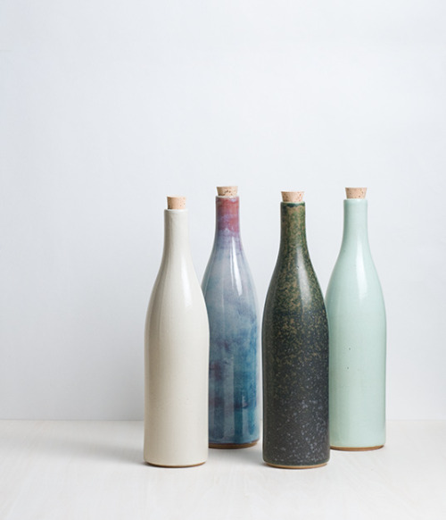 decordiaries:  Japanese Ceramic Bottles