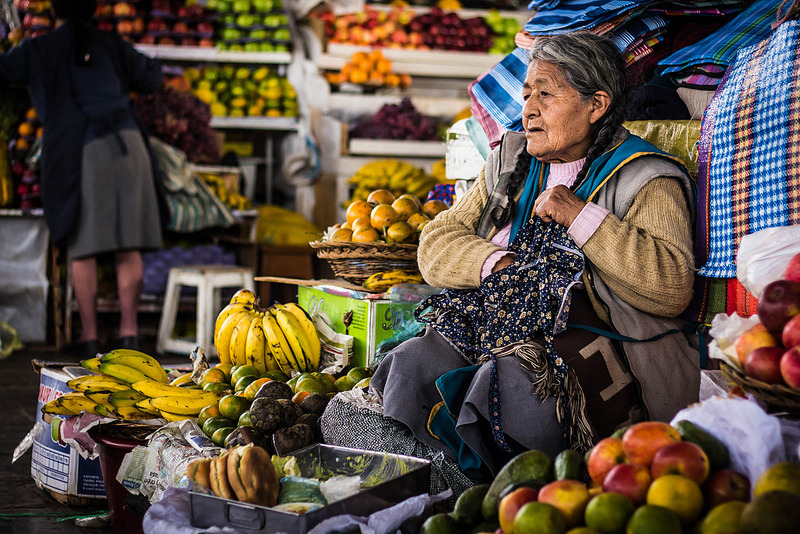 A stroll through San Pedro market. Cuzco, Peru