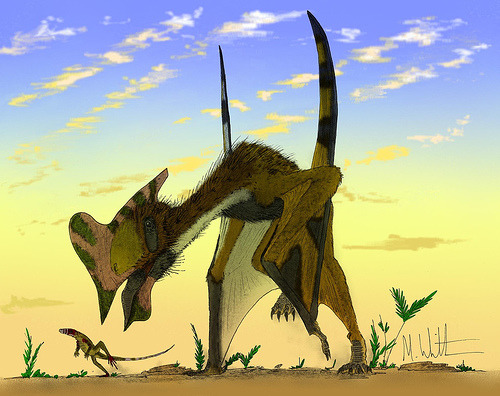 Run like Hell III (pterosaur) (by Mark Witton)