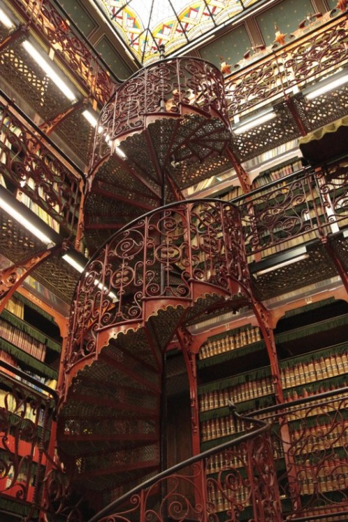 abstractnumbers:  secretofdurablepigments:  Spectacular Libraries in Europe.   I… I must go there…