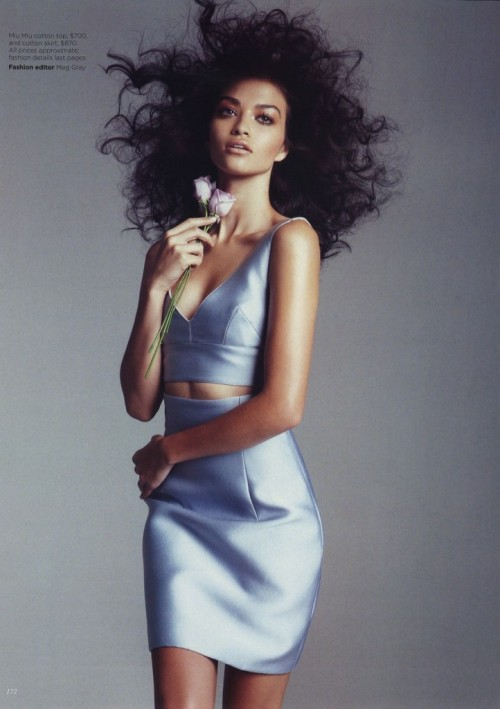 Shanina Shaik in Vogue Australia May 2012 by Nicole Bentley