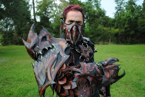 lightningboltthis:  Leather Dragon armor