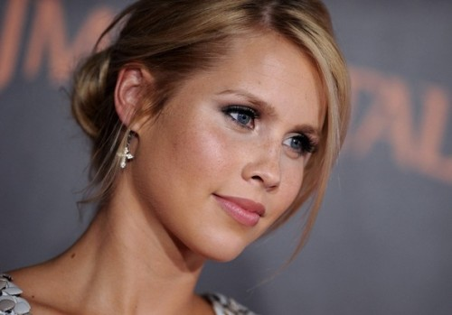 Claire Holt at the premiere of Immortals