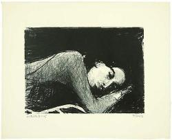 Richard Diebenkorn, Sleeping Girl, 1962. (via Artlog)