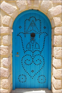 Hand of Fatima door decoration
