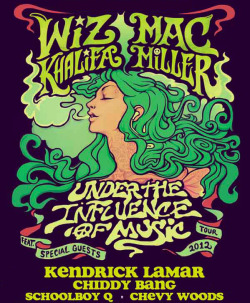 "chiddybang:  Excited to be joining Wiz and Mac this summer on the Under the Influence of Music tour. It's gonna be dope! 7/26 - Cincinnati, OH @ Riverbend Music Center (Tickets)  7/27 - Tinley Park, IL @ First Midwest Bank Amphitheatre (Tickets)  7/28 - Noblesville, IN @ Klipsch Music Center (Tickets)  7/29 - Toronto, ON @ Molson Canadian Amphitheatre (Tickets)  8/1 - Mansfield, MA @ Comcast Center (Tickets)  8/2 - Wantagh, NY @ Nikon at Jones Beach Theatre (Tickets)  8/3 - Camden, NJ @ Susquehanna Bank Center (Tickets)  8/4 - Burgettstown, PA @ First Niagara Pavilion (Tickets)  8/5 - Clarkston, MI @ DTE Energy Music Theatre (Tickets)  Watch the ""Mind Your Manners"" video, and download Breakfast on iTunes. UK, pre-order the ""Mind Your Manners"" Remix EP on iTunes out 27/5"