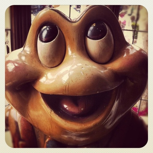 Big frog! (Taken with instagram)
