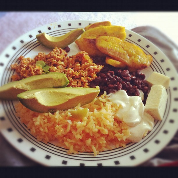 What yal know about some bomb ass Honduran food #food #family #honduras  (Taken with instagram)