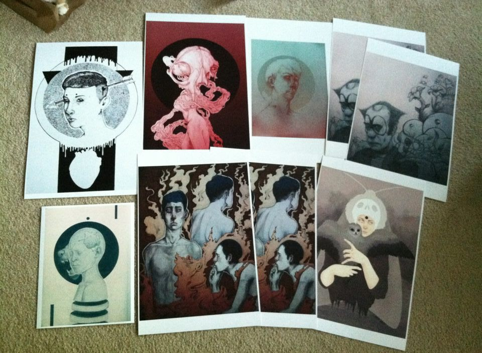 Some prints I'll be selling at school tomorrow.  You guys can also check out my online shop here.